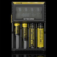 Wholesale Nitecore D4 Digicharger LCD Display Battery Charger Universal Nitecore Charger For Sony VTC5 A Samsung LG Bat