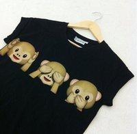 Wholesale Fashion Women t Shirts Emoji Print Crropped Women s Tops Short Sleeve Tees Summer Style Women s T shirts