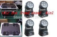air flight club - Flight case Air box DJ DMX512 Control Led Moving Head Light X W RGBW in1 Club Stage Mini Moving Led