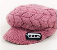 answer ball - Headset winter hats bluetooth music hat for women knitting wool answer phone rabbit hair peaked cap Valentine s day gifts