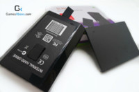 20pcs / HDD caso lot para Xbox 360 Slim / Xbox360 / Microsoft Oficial 20GB / 60GB / 120GB / 320GB / 500GB caso del disco duro HDD pata envío gratuito