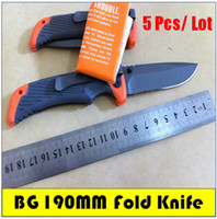 knife knives lot - 5pcs Bear Crylls Survival Folding Knife Camping Hunting Rescue Pocket Knives Size M CM
