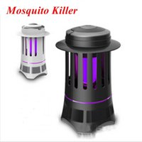 Wholesale 2015 Mosquito V W Photocatalyst Mosquitoes Killer Lamp LED Fly Killing Light Electrical Mosquitoes Lamp
