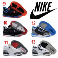 baby jordan - Nike Air Jordan Retro Children Shoes Boys Girls Basketball Shoes Sneakers Kids Cheap High Quality Athletic Baby Cheap Shoes Hot Sales