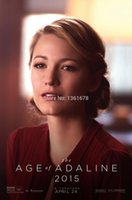 age roll - HD movie posters Hot Movie The Age of Adaline latest official poster Poster x76cm