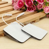 tens unit electrodes - 10pcs pair x5cm Electrode Pads for Tens EMS Unit with mm Connector for Slimming Massage Digital Therapy Machine Massager