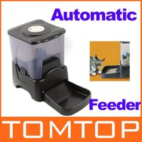 dry dog food - Large Automatic Timer Dog Cat Pet Feeder Dry Food Portion Control EMS Freeshipping Dropshipping
