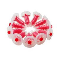 Wholesale New Arrival Dental Dynamic and static mixing tube Dynamic Machine Penta Mixing Tips Impression Red