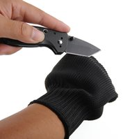 Wholesale 1 Pair Cut Resistance Gloves Of Black Anti Slash Static Stainless Steel Wire Gloves