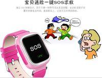 alarm clock windows - 130pcs Q60 Kid Smart Watch Bluettoth Wristwatch phone GPS SOS Call Locator Tracker Anti Lost Monitor Alarm Clock pedometer Sleeping Tracker