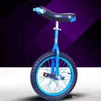 Wholesale DHL free Unicycle Inch One Wheel Bicycle Bike Cycling Outdoor Extreme Sports Bike Unicycle For Kids Adult Color A3
