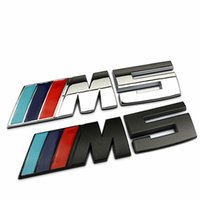 car badge - 1 Znic Alloy Car Trunk Badge Emblem D Stickers Auto Sticker M5 Vehicle Logo for BMW Car Styling Sticker