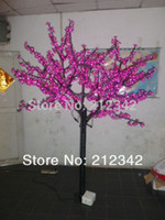 artificial outdoor landscaping - LEDs Christmas Light Landscape Lighting LED Artificial Cherry Blossom Tree Light m ft Height Outdoor Light Purple