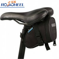Wholesale 2016 ROSWHEEL Waterproof Mountain Road Bicycle Tail Bag Saddle Bag Bike Pouch Cycling Seat Bag Black
