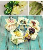 Wholesale 2015 Favor Holders Ivory Sugar Box Wedding Favor Bags Wedding Ideas Organza Bag