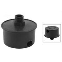 Wholesale Black Plastic mm Male Threaded Filter Silencer for Air Compressor Noise Elimination