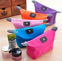 Wholesale Women Waterproof Zipper Cosmetic Makeup Bag organizer bag handbag travel bag Purse Pouch storage bags
