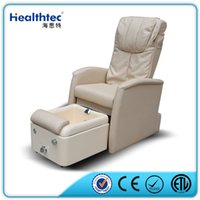 Promote Circulation beauty salon pedicure chair - Basin can be covered Nail Beauty Salon Equipment shiatsu and viberating Massage Fiberglass Basin Gel coat Discharge Pump Pedicure Spa Chair