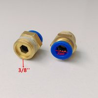 Wholesale 20pcs mm Tube Thread Pneumatic Fitting Quick joint PC8