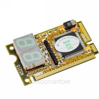 Wholesale in Mini PCI E Expresscard Mini PCI LPC Digit PC Analyzer Tester POST Card for Notebook Y60 DNPJ0003 M5