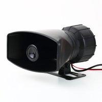Wholesale 1pcs Van Truck PA System W Loud Horn V Car Siren Auto Max dB Sounds tone Newest