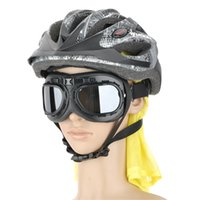Wholesale Fashion Transparent PC Lens Safety Motorcycle Goggles Black Frame High quality transparent PC lens black ABS frame Adjustable