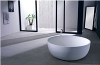 Wholesale 1350 X MM COLLEEN ROUND STONE SOLID SURFACE BATH TUB