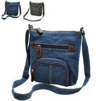 Wholesale Brand Mini Small Bag Denim Crossbody Bag Classic Casual Women Messenger Shoulder Bags Vintage Denim Bags ZB0449 Smileseller