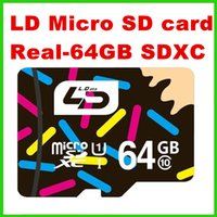 Wholesale LD TF trans Flash card Micro SD card GB class SDXC memory card for cell phones tablet A
