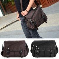 Wholesale New Fashion Men Shoulder Bag Flap Front Men Bag Multiple Pockets Casual Crossbody Bag Men s Travel Bags Black Coffee H14755