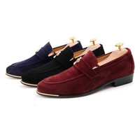 mens designer shoes - Lazy Casual Man Doug Shoes Genuine Leather Casual Driving Shoes Hot Mens Designer Loafers Men Flat Shoes Leather