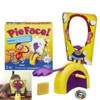Wholesale Korea Running Man Funny Pie Face Game Exciting Adult Kids Pie Face Games Rocket Game toys gifts