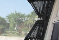 Wholesale 4PCS LEXURY Car Curtain For Nissan Sunny Geniss March Geely MK CK Vision Volvo S40 car care product