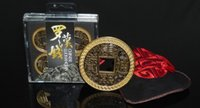 Precio de Juguetes chinos de la nueva llegada-alta calidad de la moneda china LUOHANQIAN mayor-Libre del envío del nuevo de la llegada que Morgan tamaño de moneda de magia juguetes mágicos