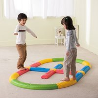 kids indoor play equipment - Kids Fun Play Indoor Outdoor Balance Training Sensory Integration Equipment Team Game Set