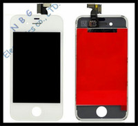 Wholesale by DHL For iPhone G S LCD Display Touch Screen digitizer Bezel Frame Replacement Part Assembly