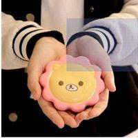 Wholesale Christmas present Mini lovely handy Creative portable USB Cream Bear style portable hand warmers