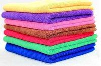 Wholesale cmx60cm Microfiber Car Cleaning Towel Microfibre Detailing Polishing Scrubing Waxing