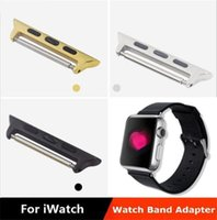 Wholesale 2015 New Design Screwless General Watch band Adapter For Apple Watch Stainless Strap For Apple Watch Bracelet For Apple Watch