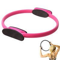 Wholesale crossfit yoga circles ring fitness magic gym body building exercise training equipment sport accessories for freeshipping