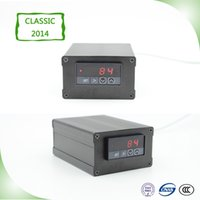 Wholesale CLASSIC WIZA RED ID16mm V W MINI TEMPERATURE CONTROL BOX WITH ENAIL COIL HEATER Titanium nail DIRECT MANUFACTURER