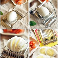 Wholesale Hot Sell Creative in Boiled Egg Slicer Dividers Mushroom Tomato Cutter Kitchen Cooking Tools