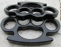 Wholesale FREE SHIP PS BLACK thin BRASS KNUCKLES DUSTER