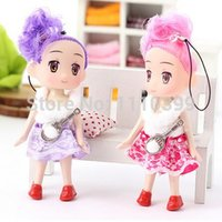 Wholesale Cute Princess Ddung Doll Stuffed Toys Mini Phone Hanging Christmas Gifts for Girls Children Drop