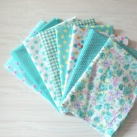 Wholesale New GREEN cotton fabric cm Vintage cotton fabric fabric Bundle quilting tilda fabric for sewing cloth