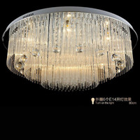 beach house lighting - Modern LED Crystal Chandelier lighting For Beach House Bedroom Dining Room AC110 V LED Crystal Ceiling Lamps Fixtures