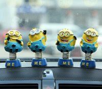 Wholesale Daily Deals Minions movie Action Figure toys Despicable Me sets Automobiles Interior Accessories Minion Decorations Dolls for cars Decor