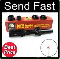 rifle scope - Tactical Hunting Shooting Millett Illuminated x24 Dot mm Tube Rifle Scope