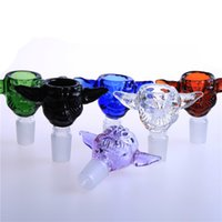 Wholesale Soulton Glass New Arrival Glass Bowls for Bongs Star Wars Yoda mm mm Glass Bowl for The Glass Water Pipes BW