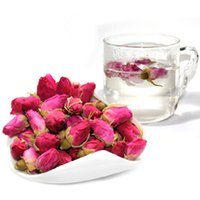 Wholesale 1Pcs g Organic Red Rose bud Rose Buds Flower Floral Herbal Dried Health Chinese Tea Anti Aging Beauty